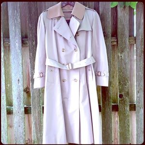 BURBERRY Vintage Removable Wool Lined Trench Coat